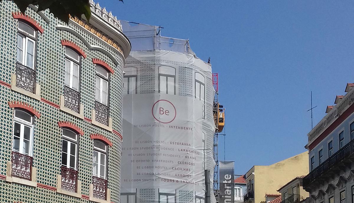 BE Lisbon Hostel Intendente / Carla Celestino