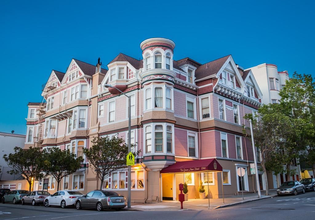 The Queen Anne Hotel – São Francisco, Califórnia, EUA