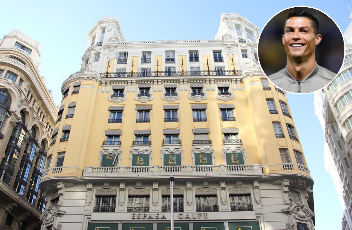 Gran Via 29, o edifício emblemático de Madrid onde vai abrir o hotel Pestana CR7 na capital espanhola