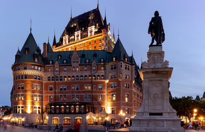 The Fairmont Le Château Frontenac – Québec, Canadá