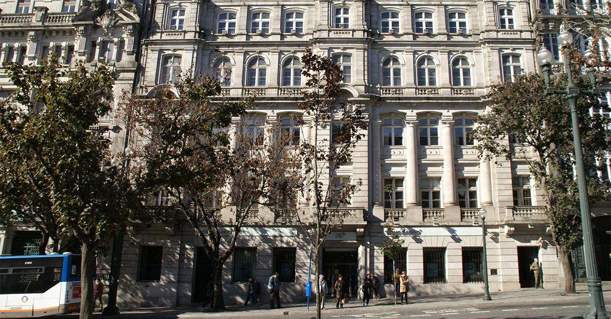 Edifício ex-sede do BES comprado no início do ano. / Elisabete Soares