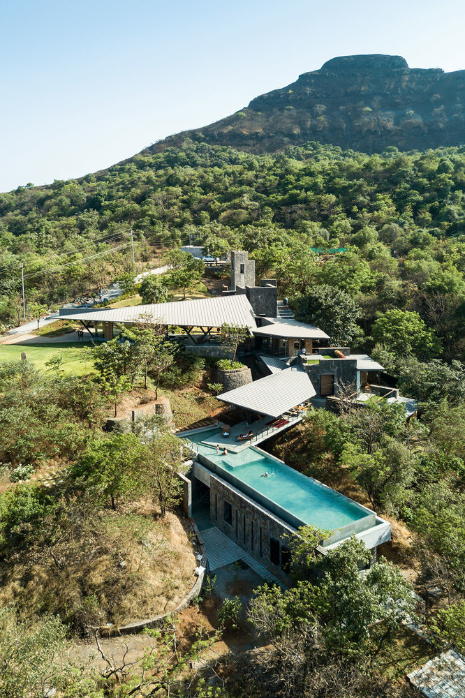 House of Three Streams, em Lonavala, Maharashtra, Índia