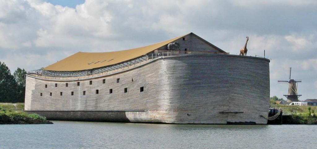 Uma Arca de Noé em tamanho real