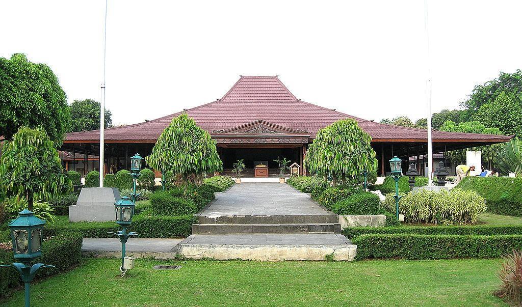 Casa em Java, Indonésia