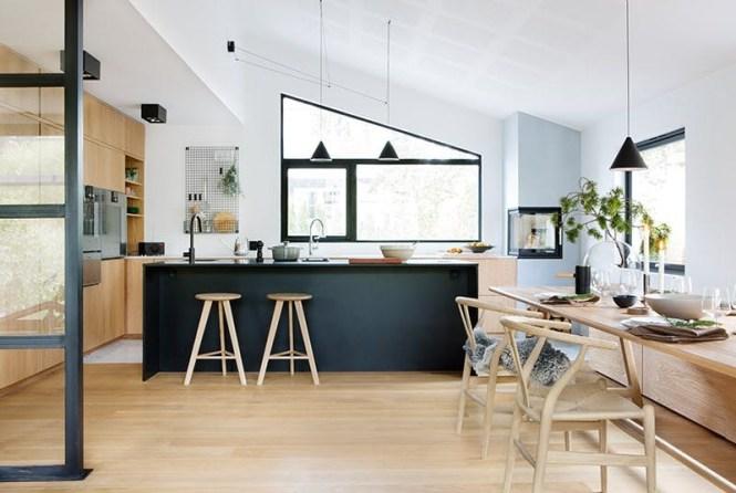 Uma casa moderna, uma decoração moderna