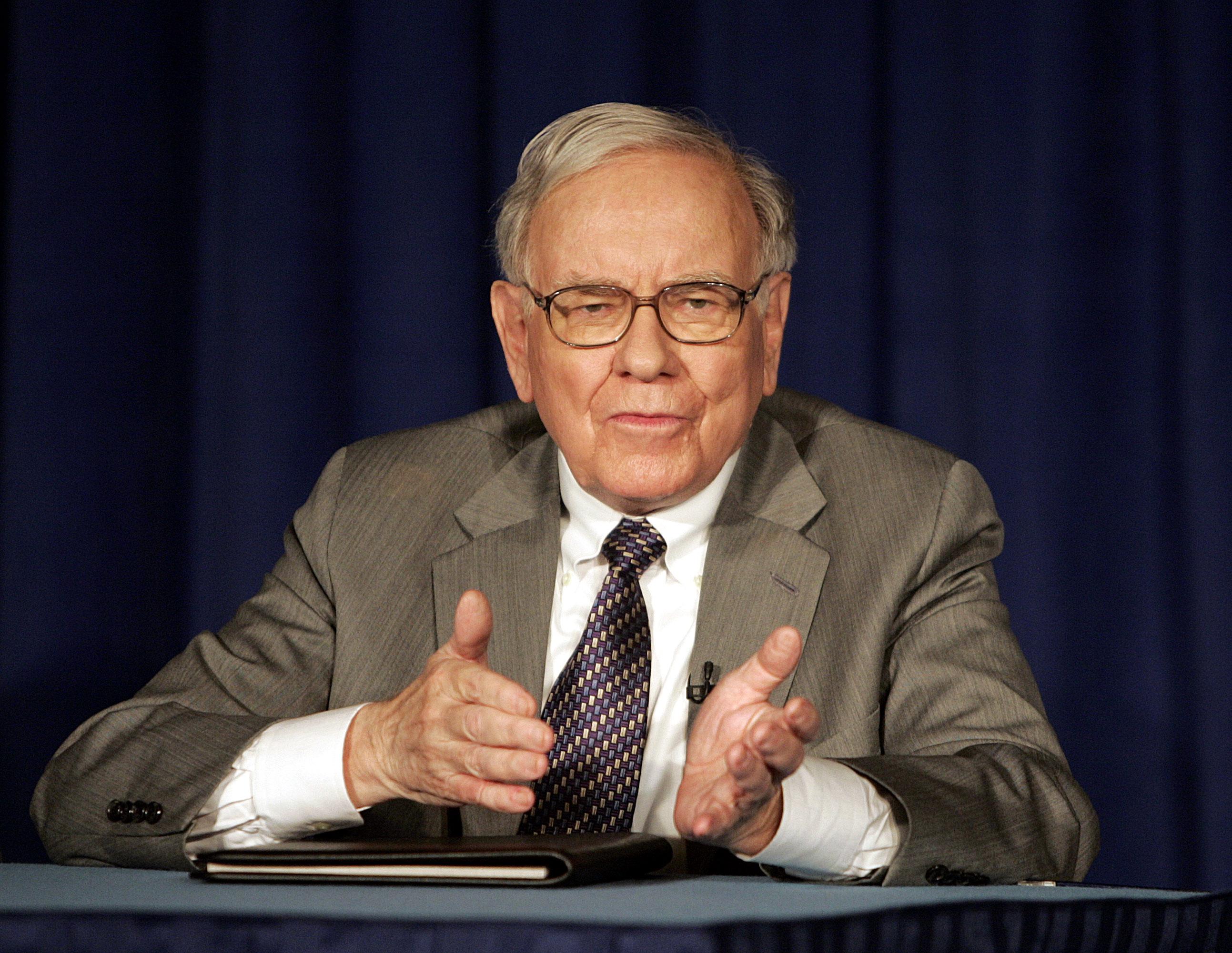 Warren Buffett, o terceiro homem mais rico do mundo, é grande investidor no imobiliário à escala mundial / Gtres