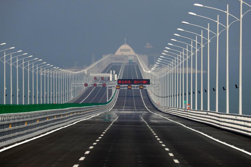 5. Hong Kong-Zhuhai-Macau, China