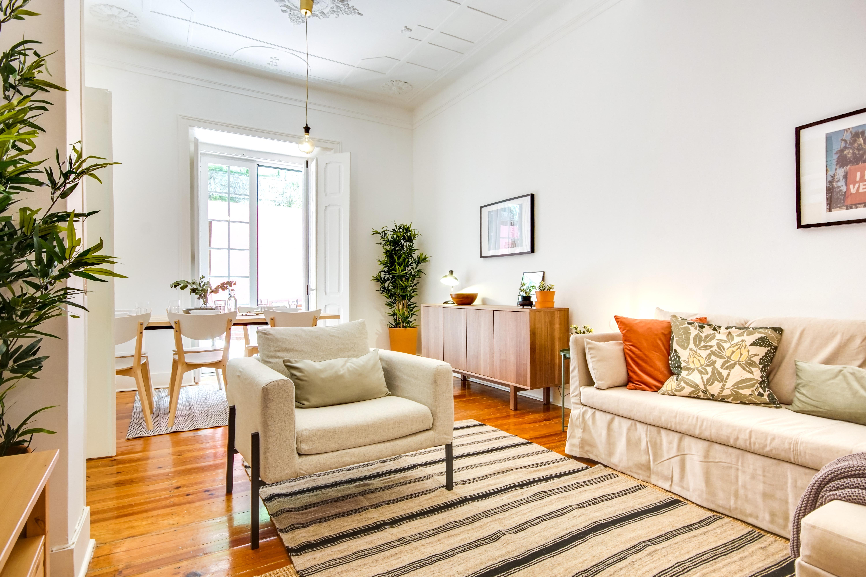 Este apartamento na Rua do Triângulo Vermelho, perto dos Anjos, está sob gestão da Hostmaker / Hostmaker