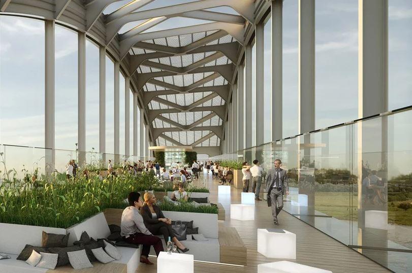 A ponte dará lugar a casas ecológicas