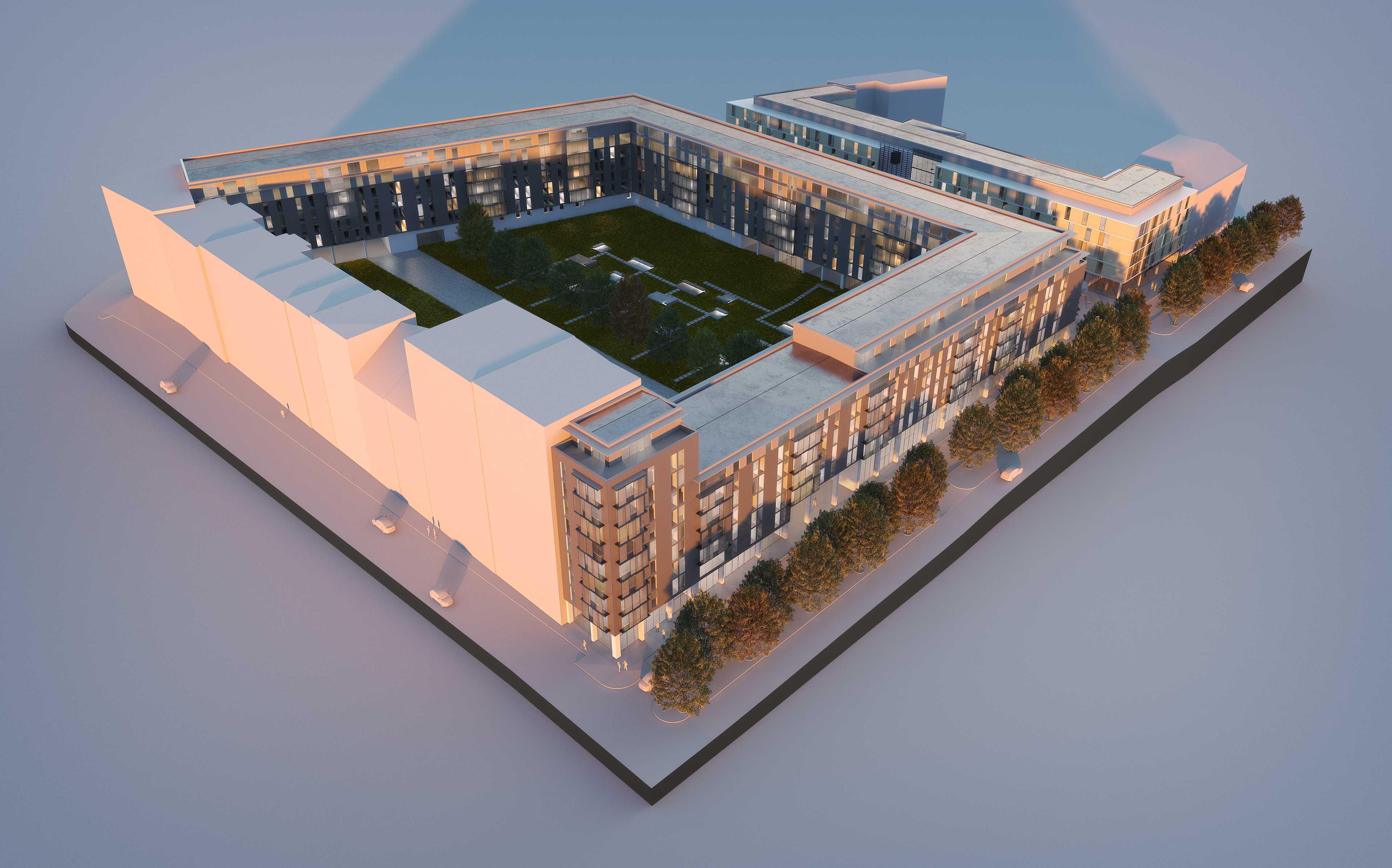 A residência de estudantes será gerida pela Nido Student / TPG Real Estate e Round Hill Capital