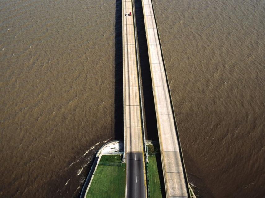6. Lago Pontchartrain Causeway, Estados Unidos