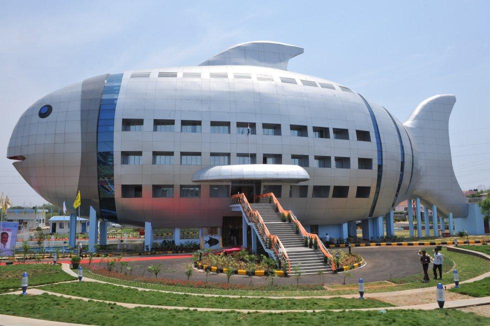 1 – Sede do Conselho Nacional de Desenvolvimento da Pesca, em Hyderabad (Índia)