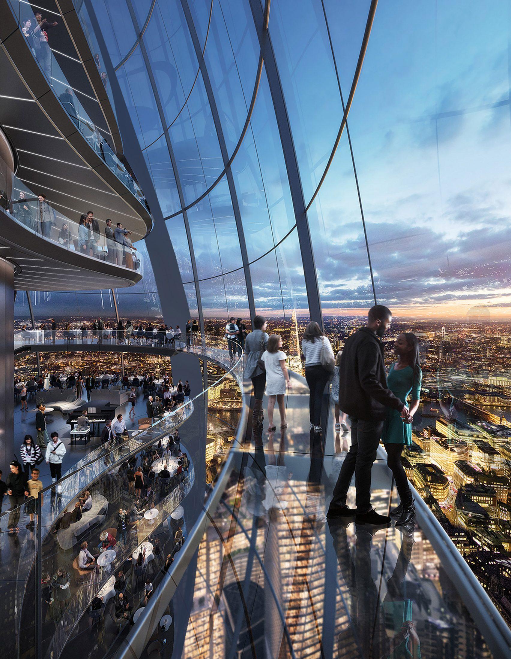 Será o segundo edifício mais alto de Londres