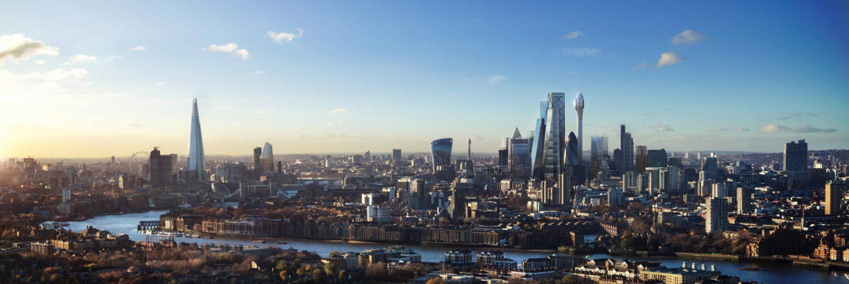 A vista geral da cidade