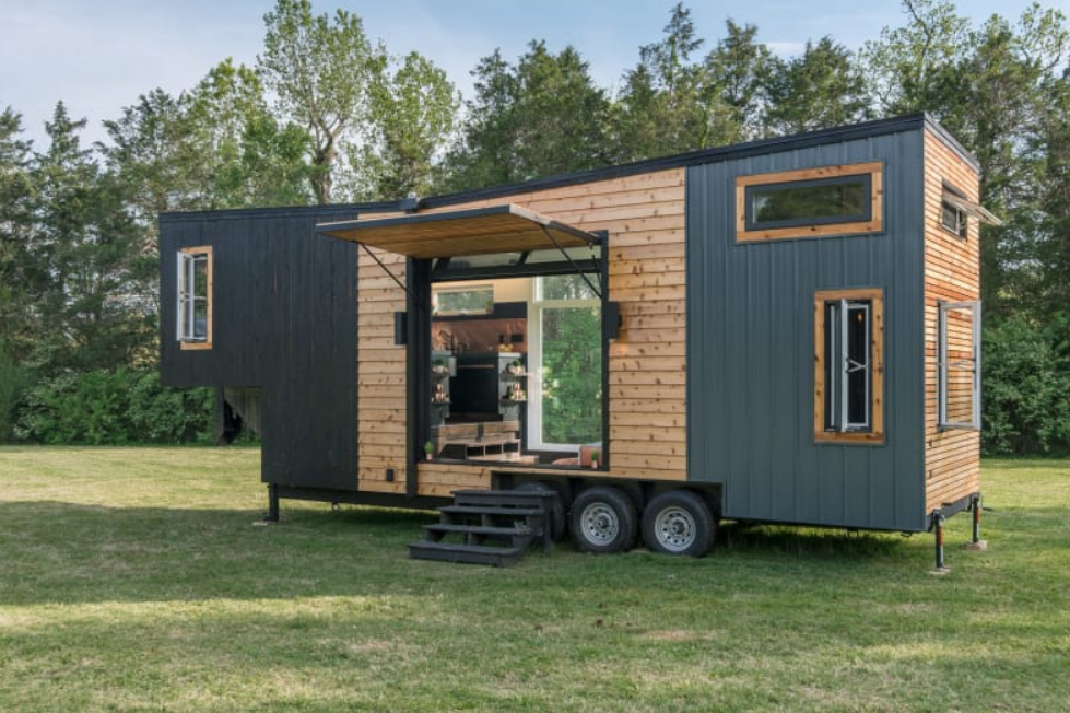 The Escher Tiny House, New Frontier Tiny Homes