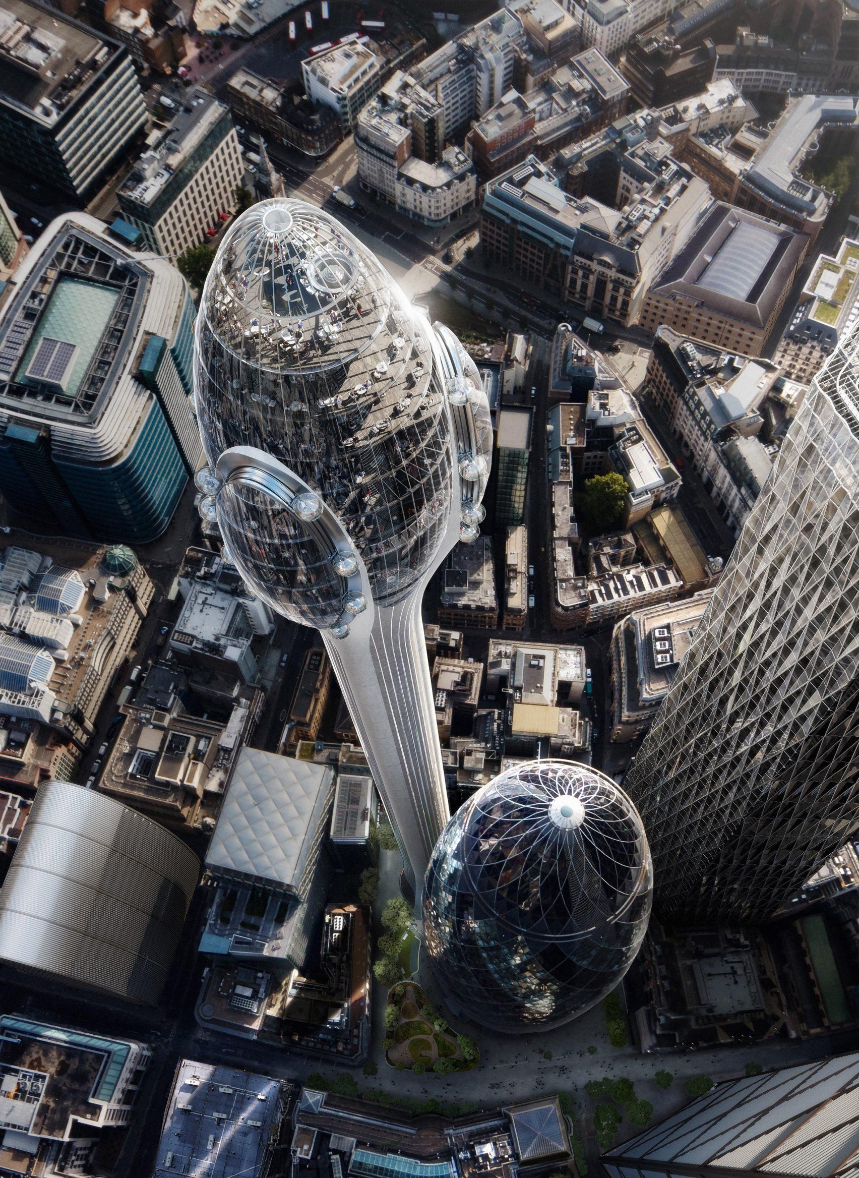 O novo arranha-céus estará pronto em 2025