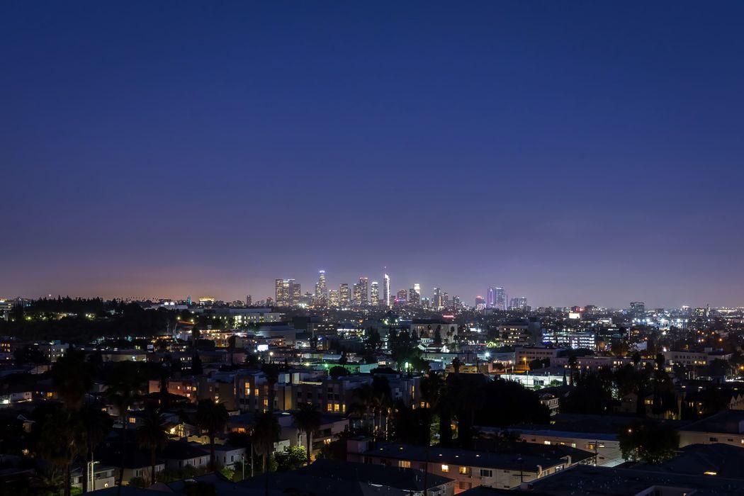 A vista sobre a cidade