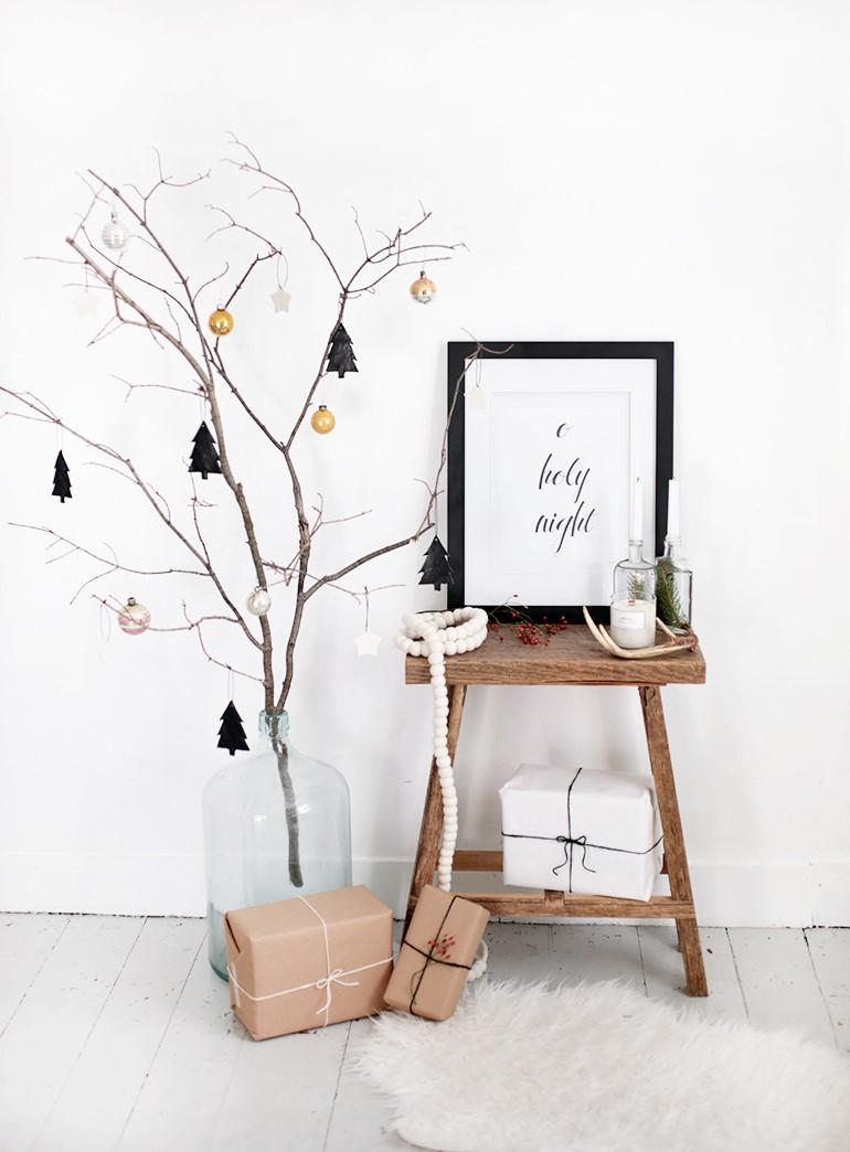 Uma árvore minimalista