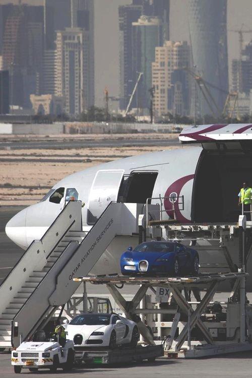 Alguns aviões árabes têm garagem