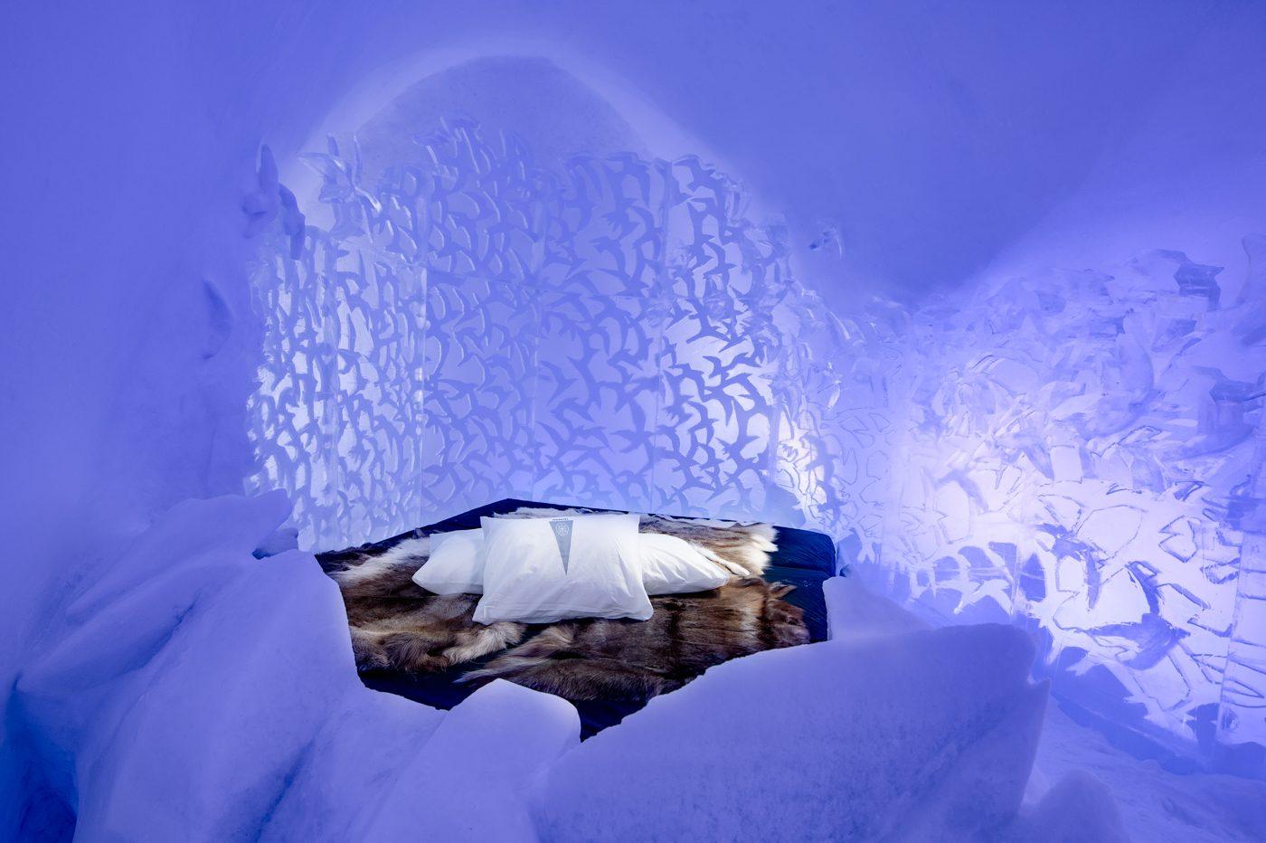 Dormir no gelo