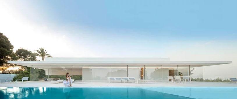A incrível piscina...