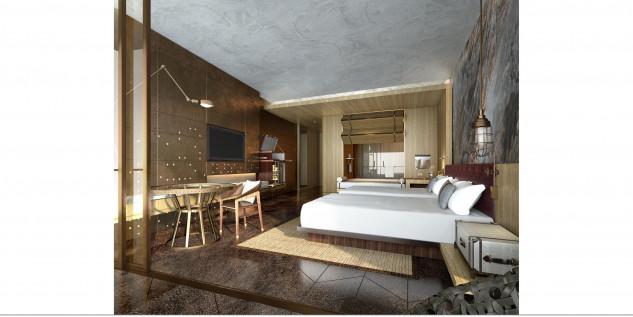 Aqui um quarto...
