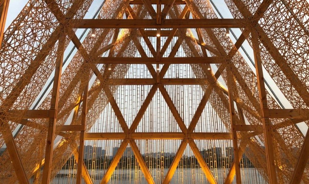 Interior da estrutura