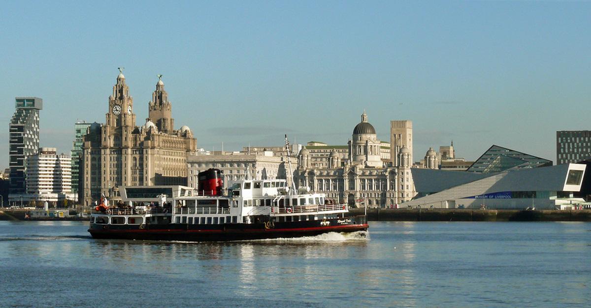 Visita o fantástico porto de Liverpool