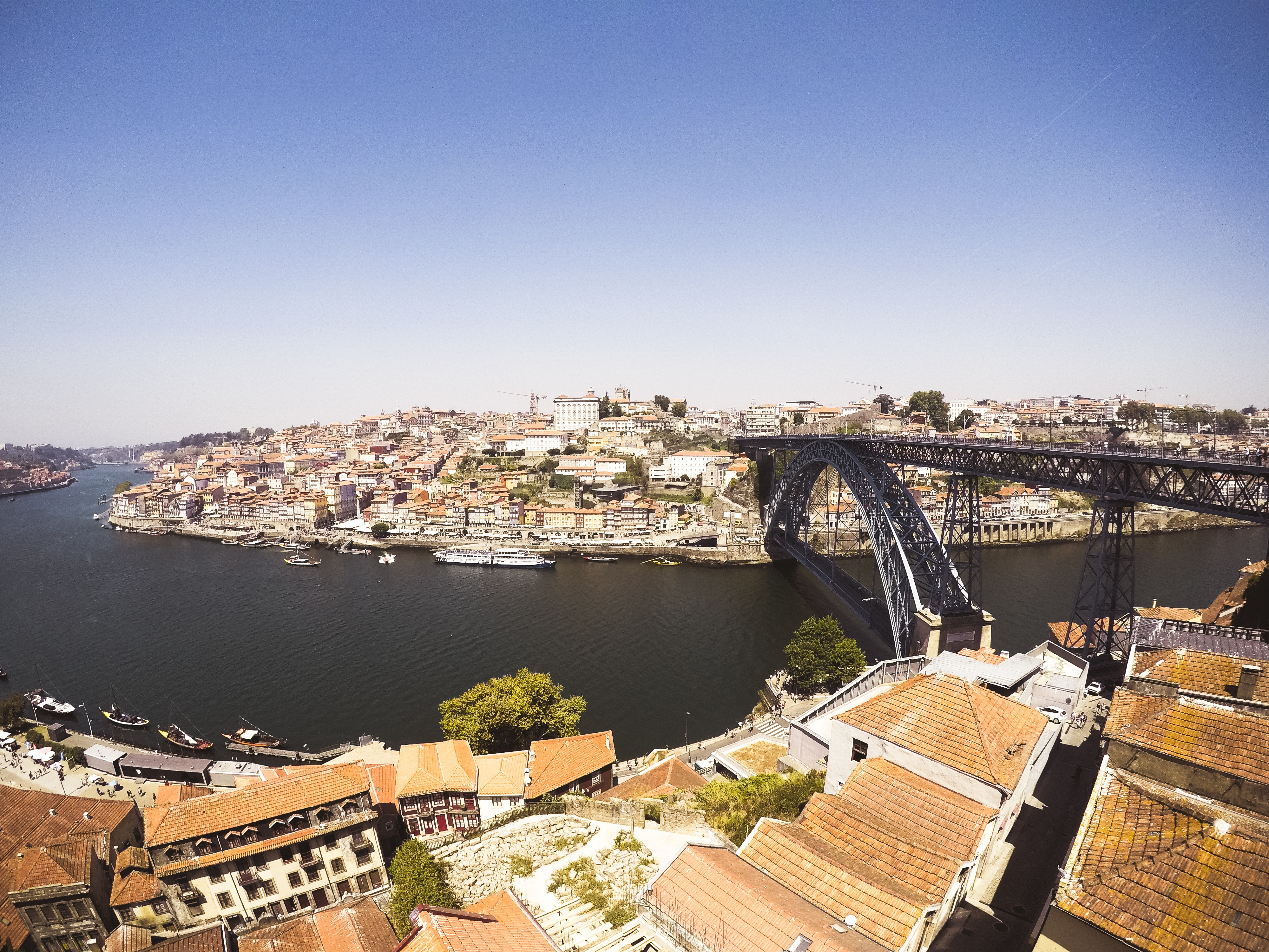 Vista panorâmica da cidade do Porto / Sadie Teper/Unsplash