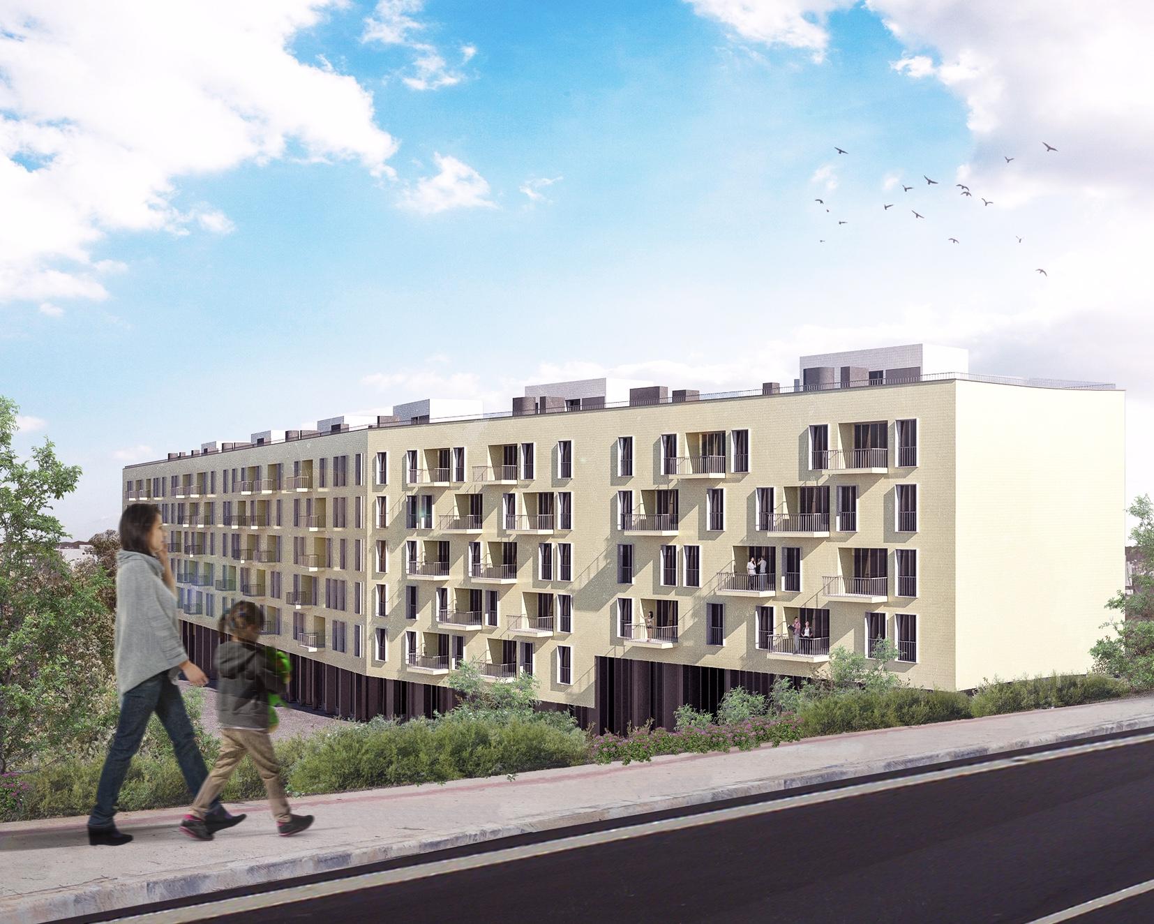 Projeto Salgueiral Residences visto do exterior / dstgroup