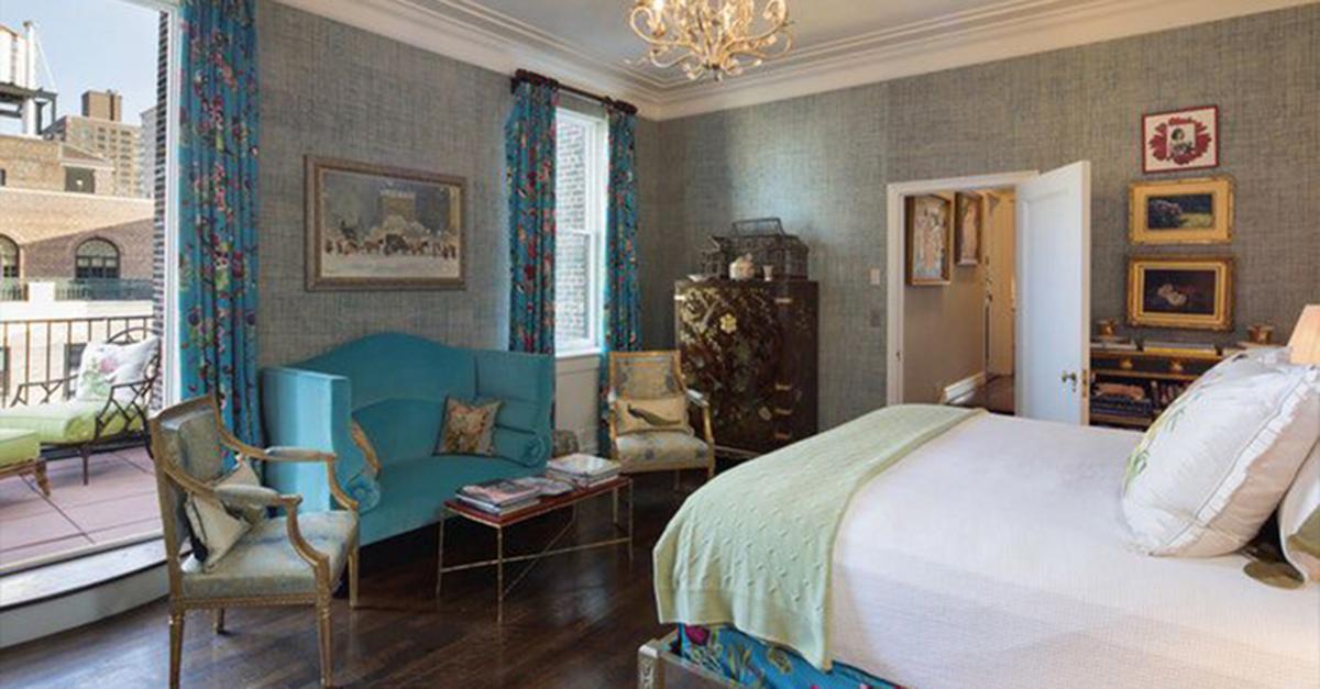 A luxuosa suite