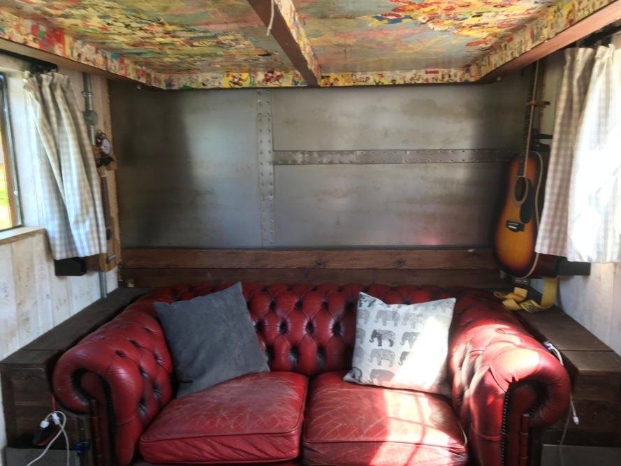 Um belo sofá