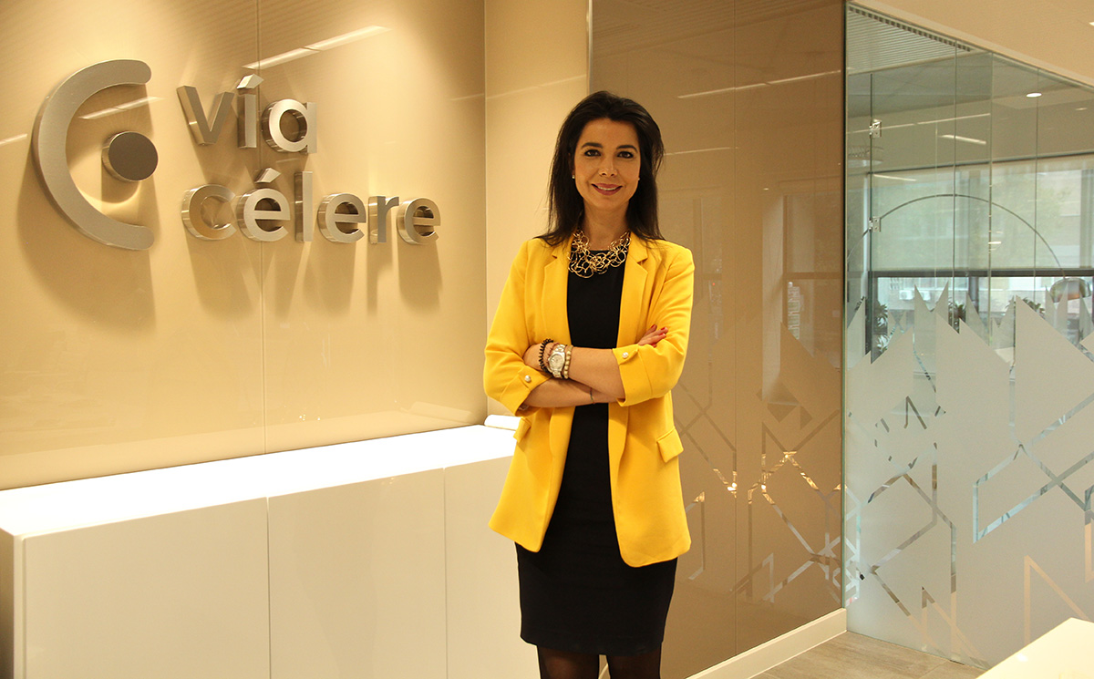 Maria Teresa Marzo, diretora geral de negócio da Vía Célere