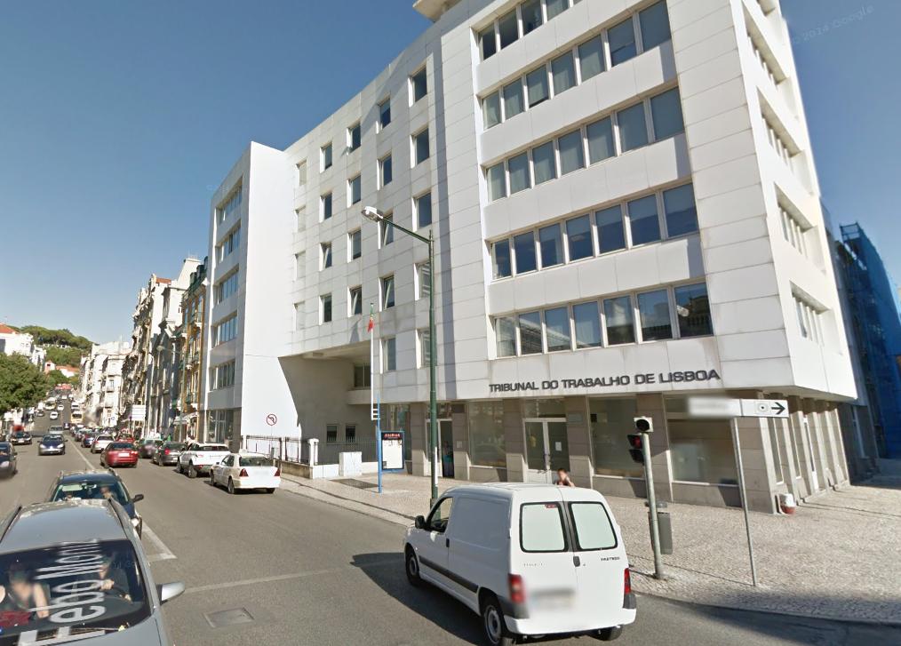 As obras no edifício estão a começar / Google Maps