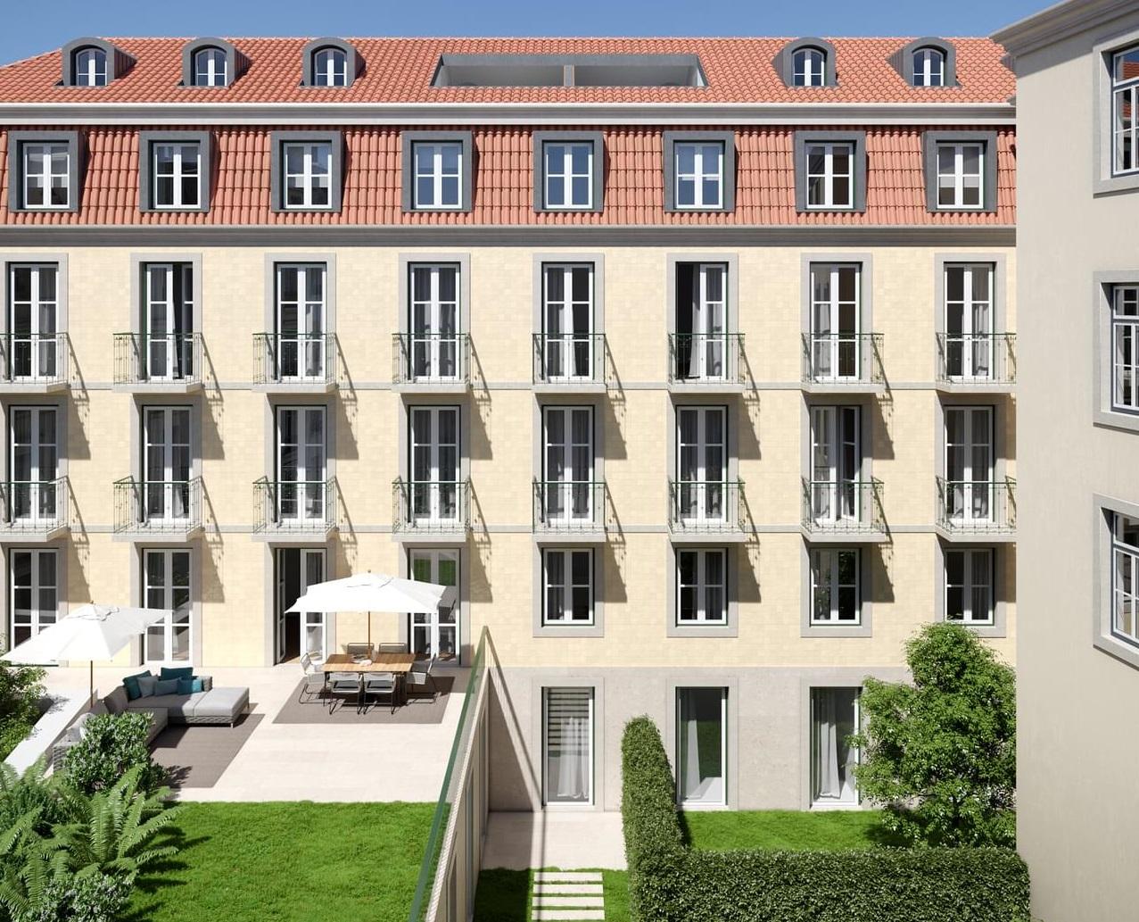 O empreendimento terá 11 apartamentos / Porta da Frente Christie's