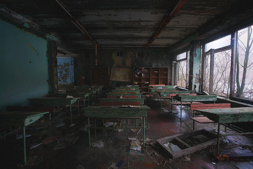 'Ninguém na escola'
