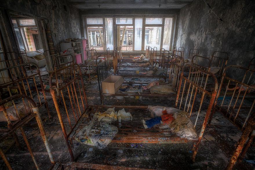 'Jardim de infância assustador'