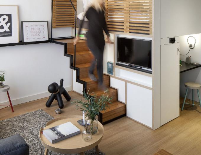 Afasta os móveis das paredes