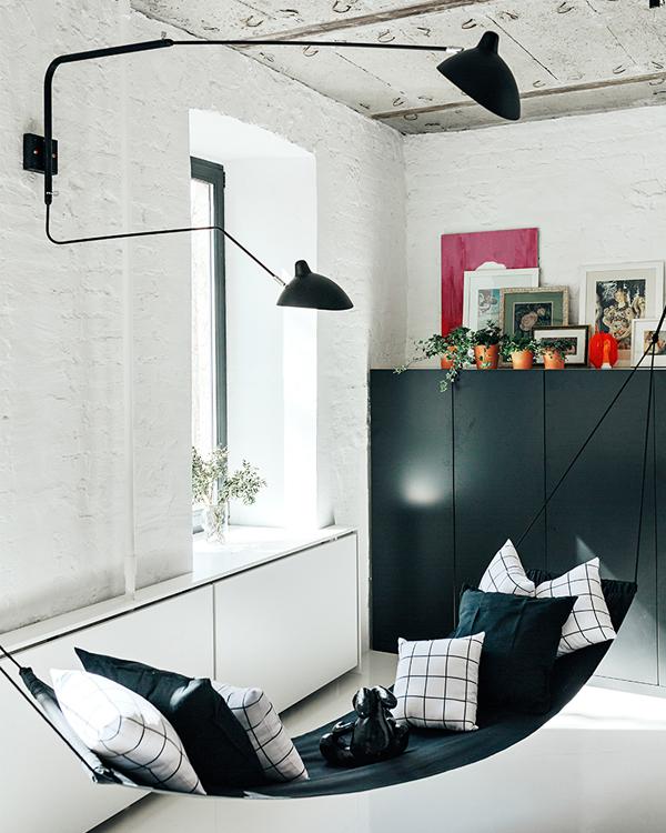 Um apartamento minimalista