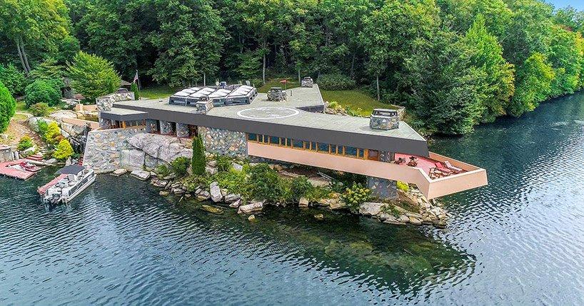Conta com duas casas do arquiteto Frank Lloyd Wright