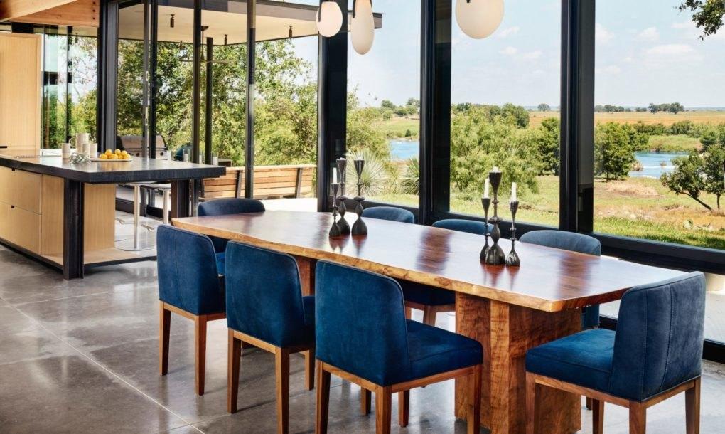 ... E aqui sala de jantar + cozinha