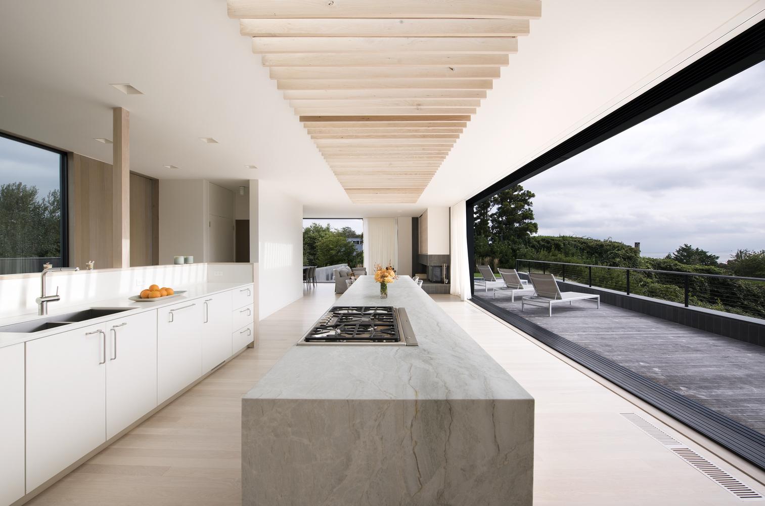 Uma cozinha 'aberta'