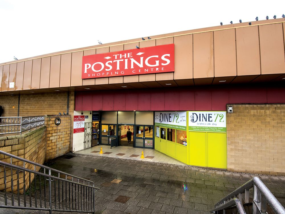 The Postings Shopping Centre em Kirkaldy, Escócia, UK / Allsop Auction House via Bloomberg