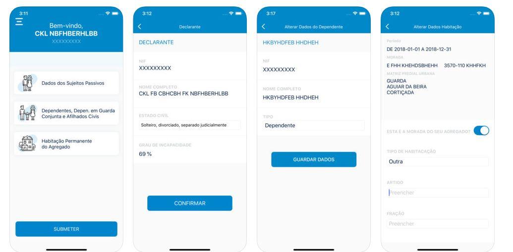 A nova app lançada pelo Fisco / Pré-visualização da App Store