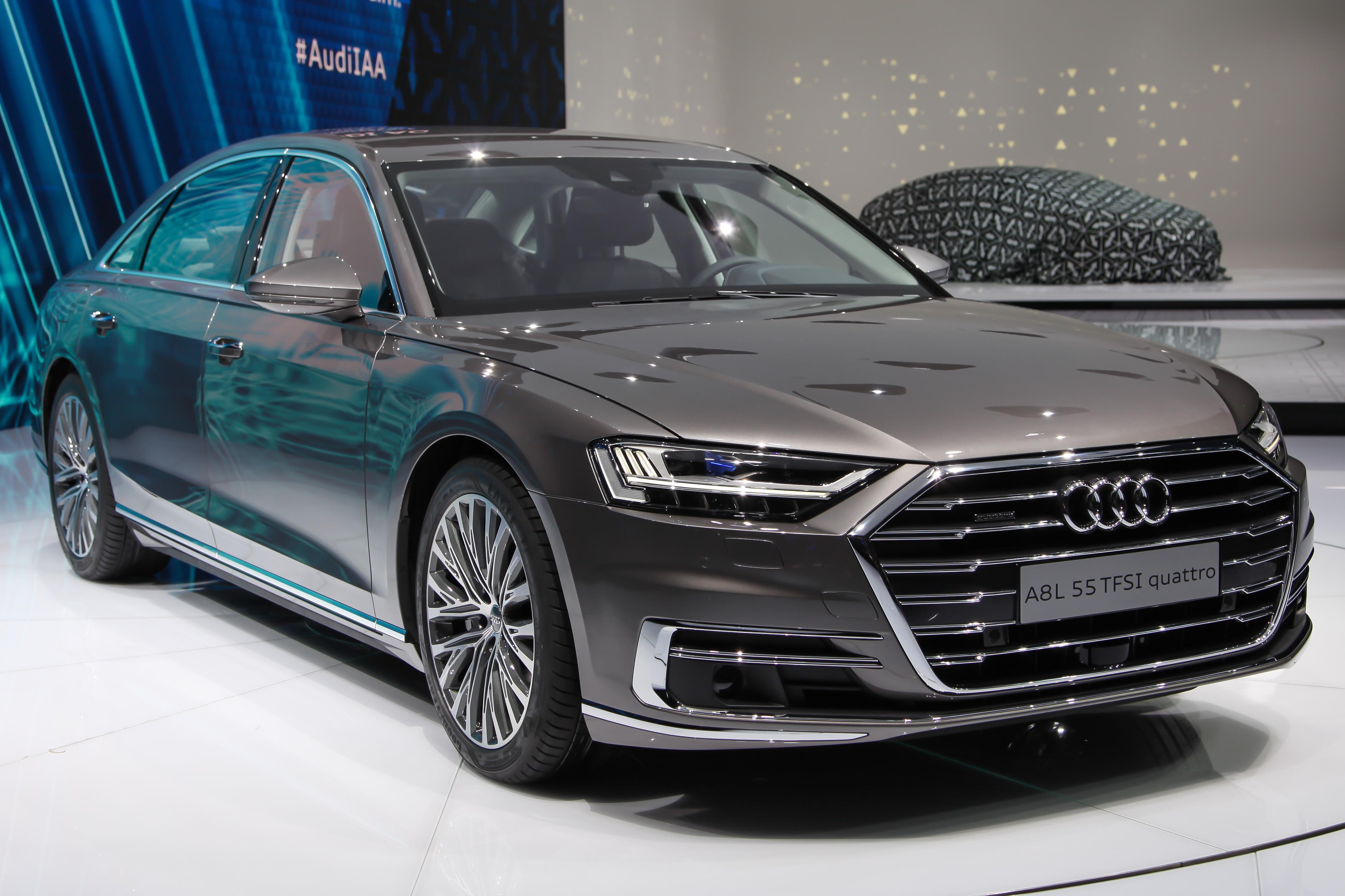 10. Audi A8