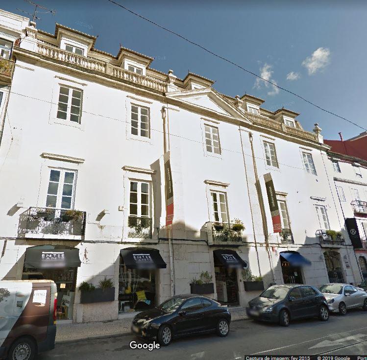 Palacete Castilho, no Príncipe Real, foi comprado pela EastBanc em 2005 / Google Maps