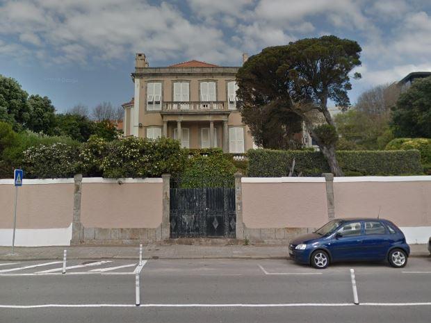 Vão nascer 15 apartamentos no Palacete Montevideu, no Porto. / Google Maps