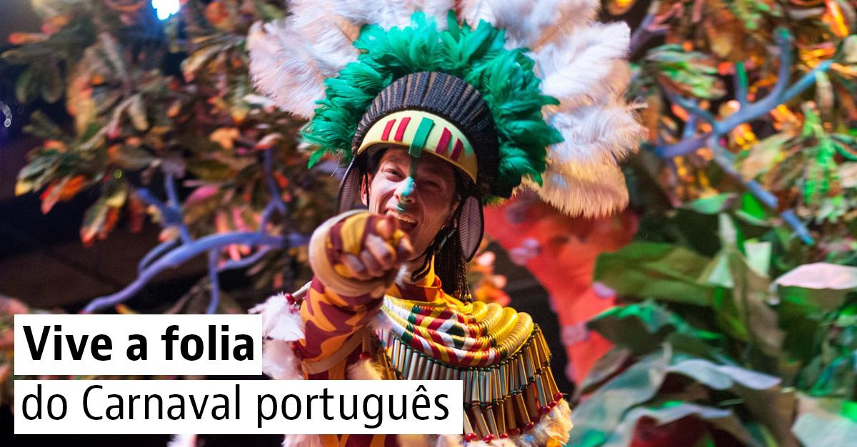 Os melhores destinos para o Carnaval 2020 em Portugal