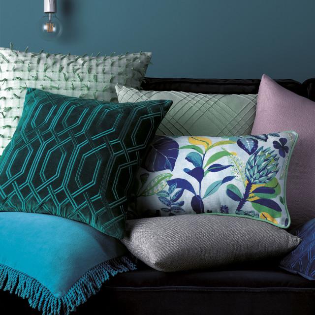 Têxteis para decorar a casa