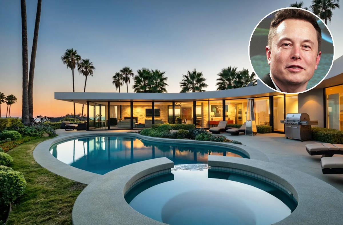 A casa fica em Los Angeles, EUA